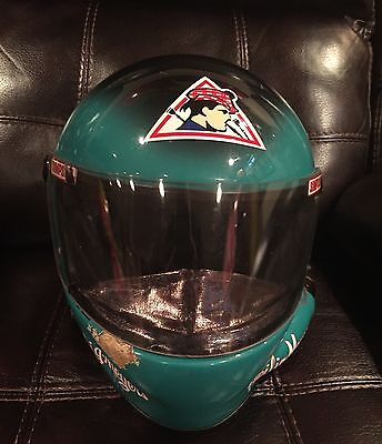 DICK TRICKLE 1998 Race Worn Used Helmet Heilig Meyers Photo Matched RARE