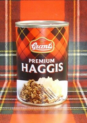 * GRANTS  SCOTTISH PREMIUM TINNED HAGGIS 392grams