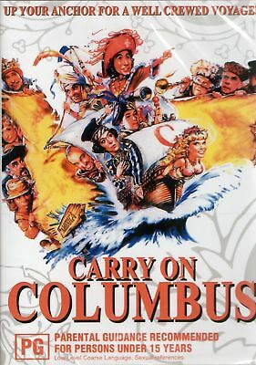 CARRY ON COLUMBUS. Rik Mayall, Jim Dale. Region free. New sealed DVD.