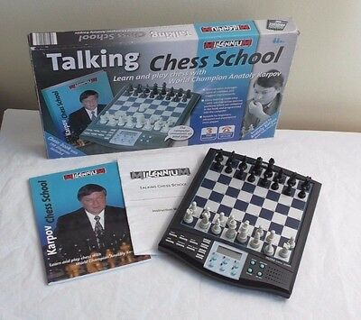 Millennium Talking Chess School with Anatoly Karpov - Learn Play Chess Computer