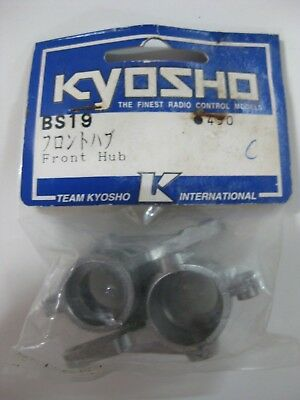 Vintage Kyosho Turbo Inferno Bs19 Front Hub-Manguetas Turbo Inferno 100799A34