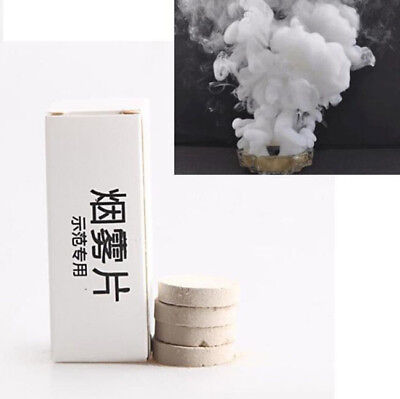 10 Pcs Smoke Cake White Smoke Effect Show Round Bomb Photography Aid Toy Superb