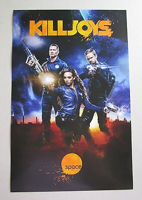 Killjoys TV Show Promo Poster Fan Expo Comic Con 2015 11 x 17 Aaron Ashmore