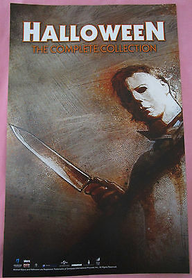 Halloween The Complete Collection / Wolf Cop Movie Promo Poster Comic Con