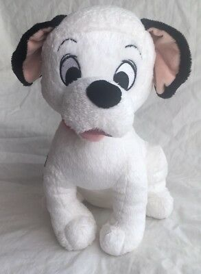 "Disney Store 101 Dalmatians LUCKY Dog Plush 13"" Medium Stuffed Animal Puppy Toy"