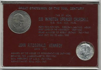 Great Statesman Of The 20th Century Coin Set***Collectors***
