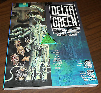 DELTA GREEN RPG 1st edition 1996 NM come nuovo (NEW) Call of Cthulhu Pagan Tynes
