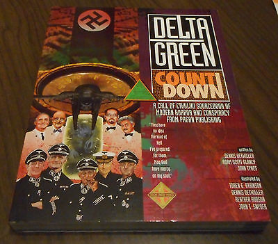 DELTA GREEN COUNTDOWN come nuovo (vedi le foto) Pagan Tynes Call of Cthulhu RPG