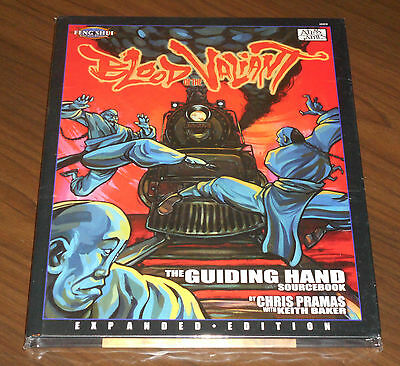 FENG SHUI - BLOOD OF THE VALIANT EXPANDED EDITION HC Atlas Games 2003 COME NUOVO