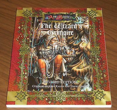 ARS MAGICA THE WIZARD'S GRIMOIRE - Revised Edition (Atlas Games 1998) COME NUOVO