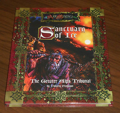 ARS MAGICA: SANCTUARY OF ICE - GREATER ALPS TRIBUNAL Atlas Games 2003 COME NUOVO