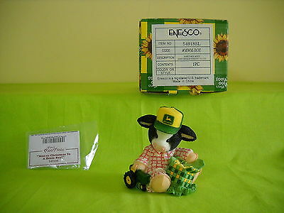 Mary's Moo Moos John Deere Moo-Ey Christmas To A Deere Boy! Sty#549185  W/box