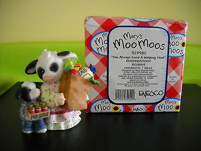 Mary's Moo Moos You Always Lend A Helping Hoof Sty#929980 Iimm234 W/box