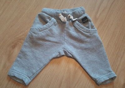 Baby Boys River Island Grey Joggers 0-3 Months