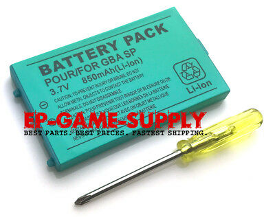 Rechargeable Battery Pack For Nintendo Gameboy Advance SP 850mAh 3.7V