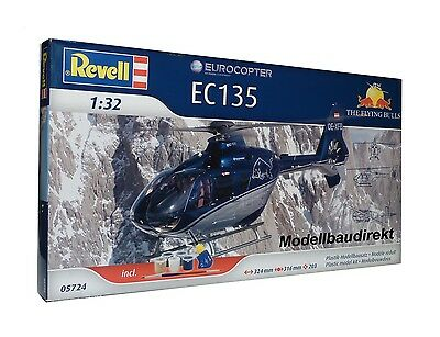Eurocopter EC 135 The Flying Bulls Heli 1:32 Bausatz Revell Nr. 05724 NEU & OVP