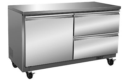 ICB Stainless Steel Under Counter Cooler with Drawers