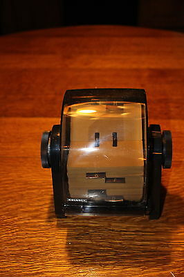 Vintage Rolodex Card Index Rotary File Cover New in Box 2 keys + 500 Cards 1989