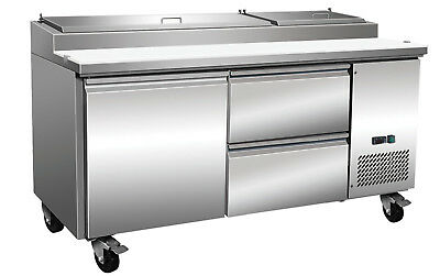 ICB Stainless Steel Prep Table With Drawers