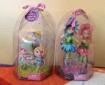 2 Fairytopia Barbie Mattel New