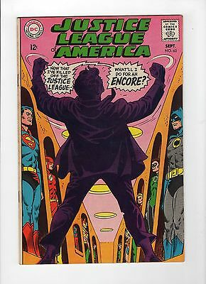 Justice League of America #65 (Sep 1968, DC) - Very Fine