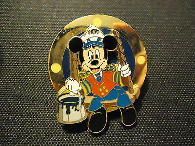 Disney Dcl Cruise Line Pin Event Sprucing Up The Ship Captain Mickey Mouse Pin
