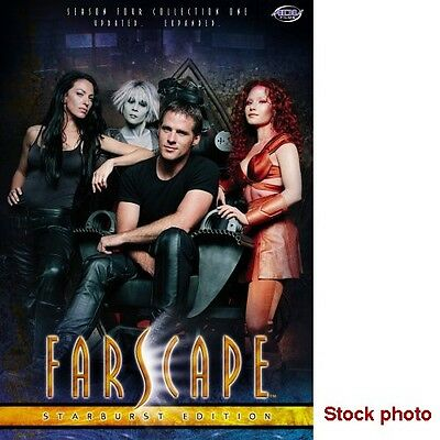 Farscape Starburst Editions: Season 4 - all 3 collections (12 dvds) - ADV Films