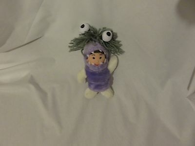 """7"""" boo child dressed as monster from monster inc fairy washing power plush doll"""
