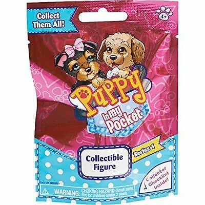 Puppy in My Pocket Collectible Figures Blind Bag Series 1 Brand New.