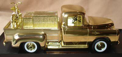 Ltd Edt 2002 Gold Canadian Tire Collector Bank 1957 Fargo Ser 3 No.1
