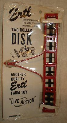 Ertl Live Action Farm Toy Two Roller Disk Mib