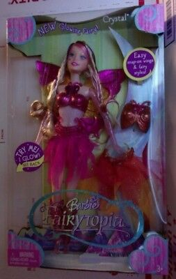 Barbie Fairytopia Glowing Fairy Doll Crystal