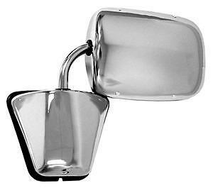 1974-87 Chevy/GMC Pick-Up Style Door Mirror (Chrome) New  by Grote