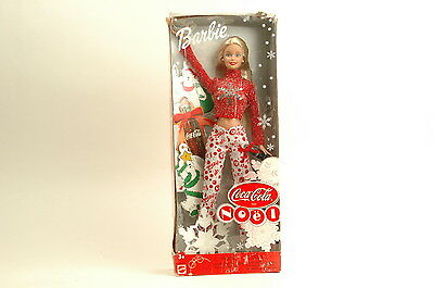 #56975 Mattel Canada Coca Cola Noel Barbie Christmas Foreign Issue