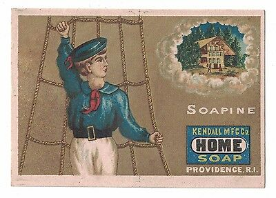 Kendall Mfg Co. Soapine Sailor Dreams of Home  Charlotte Perkins Gilman -