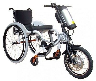 SMART Adventure Kit Electric Attachable Handcycle (Hand bike) Kit for Wheelchair