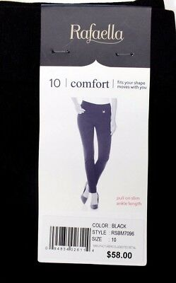 Rafaella Women's Comfort Pull On Slim Ankle Length Pants Variety Size/color Nwt