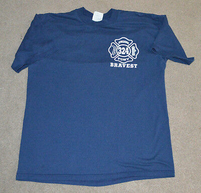 FDNY Engine 324 Satellite 4 Shirt NYC New York Fire NYC XL Corona Queens