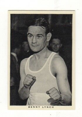 Wills Boxing Card. Benny Lynch