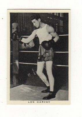 Wills Boxing Card. Len Harvey