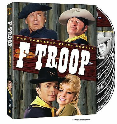 F TROOP the complete first series season 1 one. Region free. New sealed DVD.