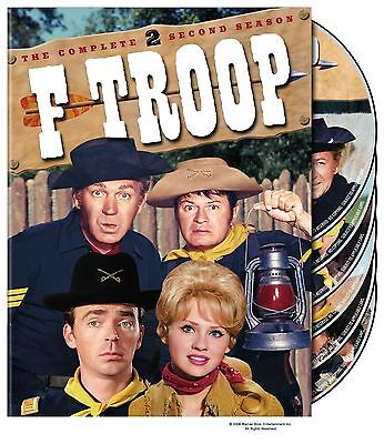 F TROOP the complete second series season 2 two. Region free. New sealed DVD.
