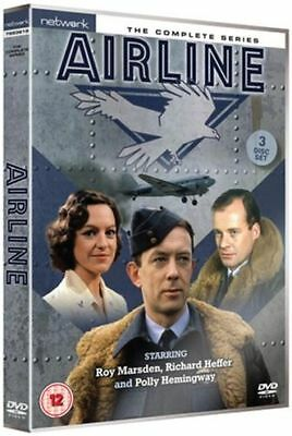 AIRLINE the complete series. Roy Marsden. 3 discs. New sealed DVD.