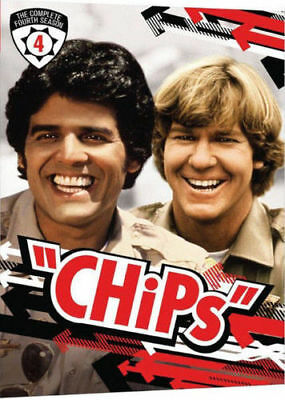 CHIPS the complete fourth series season 4 box set. Region free. New sealed DVD