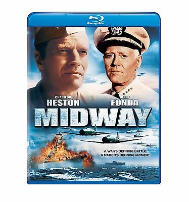 Blu Ray MIDWAY. Charlton Heston, Henry Fonda. UK compatible. New sealed.