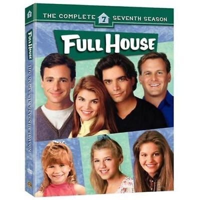 FULL HOUSE the complete seventh season series 7. Region free. New sealed DVD.