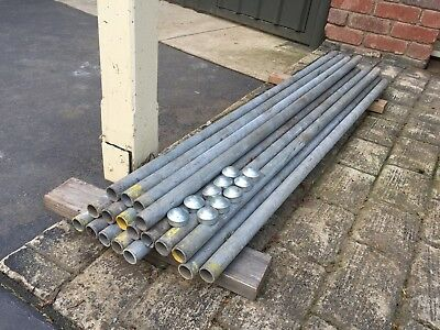20 Galvanised pipes (posts)
