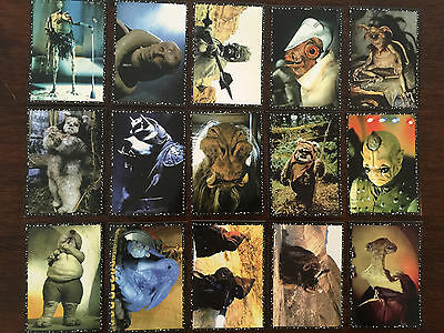 1996 Star Wars Panini Complete Stickers Set Without Album Excellent