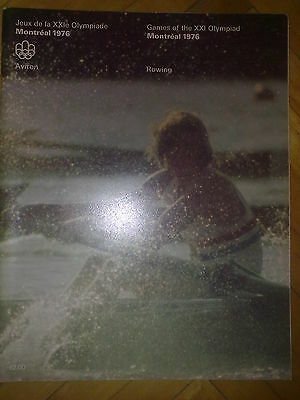 Programme Olympic Games Montreal 1976 ROWING