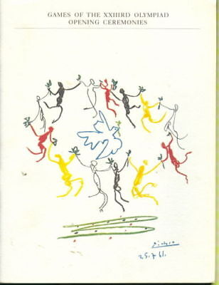 Programme XXVI Olympic Games LOS ANGELES 1984 OPENING